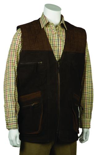 Bonart Gents Leather Gilet