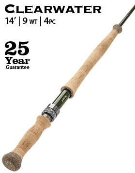 Orvis rod Clearwater 14'