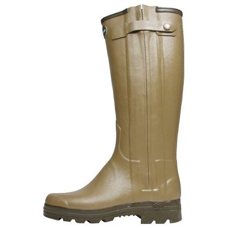 Le Chameau Ladies Chasseur Leather Lined Boots