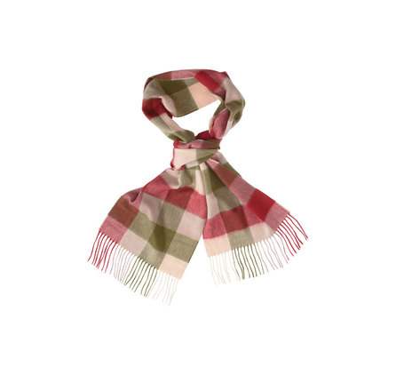 Barbour Large Tattersall Lambswool Scarf