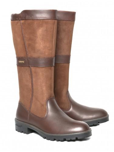 Dubarry Leitrim Knee-High Ladies Boot Walnut
