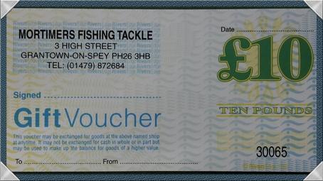 Mortimers £10 Gift Voucher
