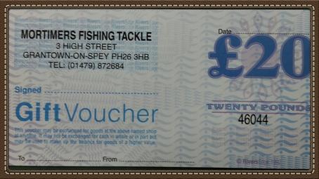Mortimers £20 Gift Voucher