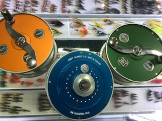 Hardy Cascapedia 10/11 coloured reel