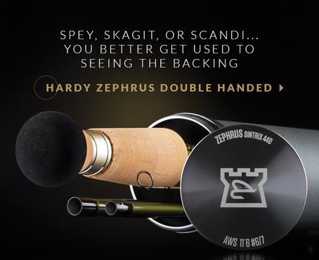 Hardy ZEPHRUS Salmon Rod 12`6  #7/8
