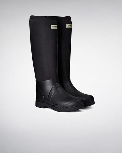 Hunter Women's Balmoral Equestrian Neoprene Stretch Wellington/Riding Boots