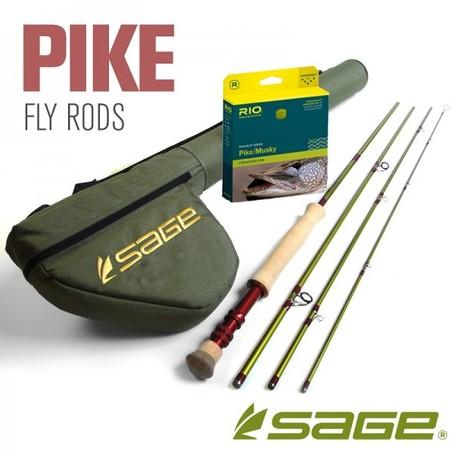Sage Pike 9` #10 Rod