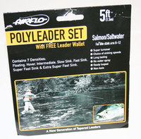 Airflo Salmon Poly Leaders Set 5 ft