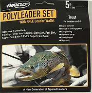 Airflo Trout Poly Leaders Set 5 ft
