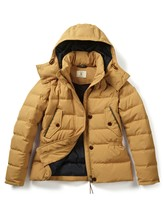 Aigle Women's Icidown Padded Down Jacket, Curcuma