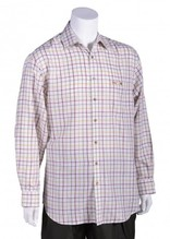 Bonart Banbury Burgundy Classic Country Check Shirt