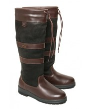 Dubarry Galway Extrafit™ Unisex Country Boots - Black / Brown