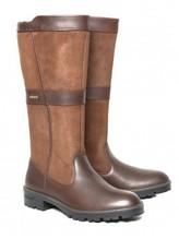 Dubarry Leitrim Knee-High Ladies Boot Walnut
