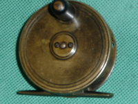 "Farlows  Brass 2 1/2"" Reel"