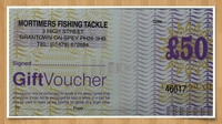 Mortimers £50 Gift Voucher