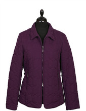 Grenouille Diamond Jacket Purple