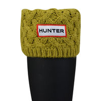 Hunter Unisex Basketweave Cuff Welly Socks