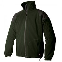 Keela Genesis Waterproof Fleece Jacket Green/Black