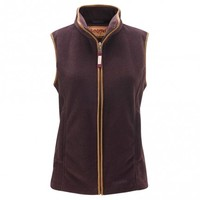 Schoffel Ladies Lyndon Fleece Gilet - Aubergine