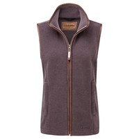 Schoffel Ladies Lyndon Fleece Gilet - Mink/Heather