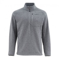 Simms Rivershed Sweater-Steel